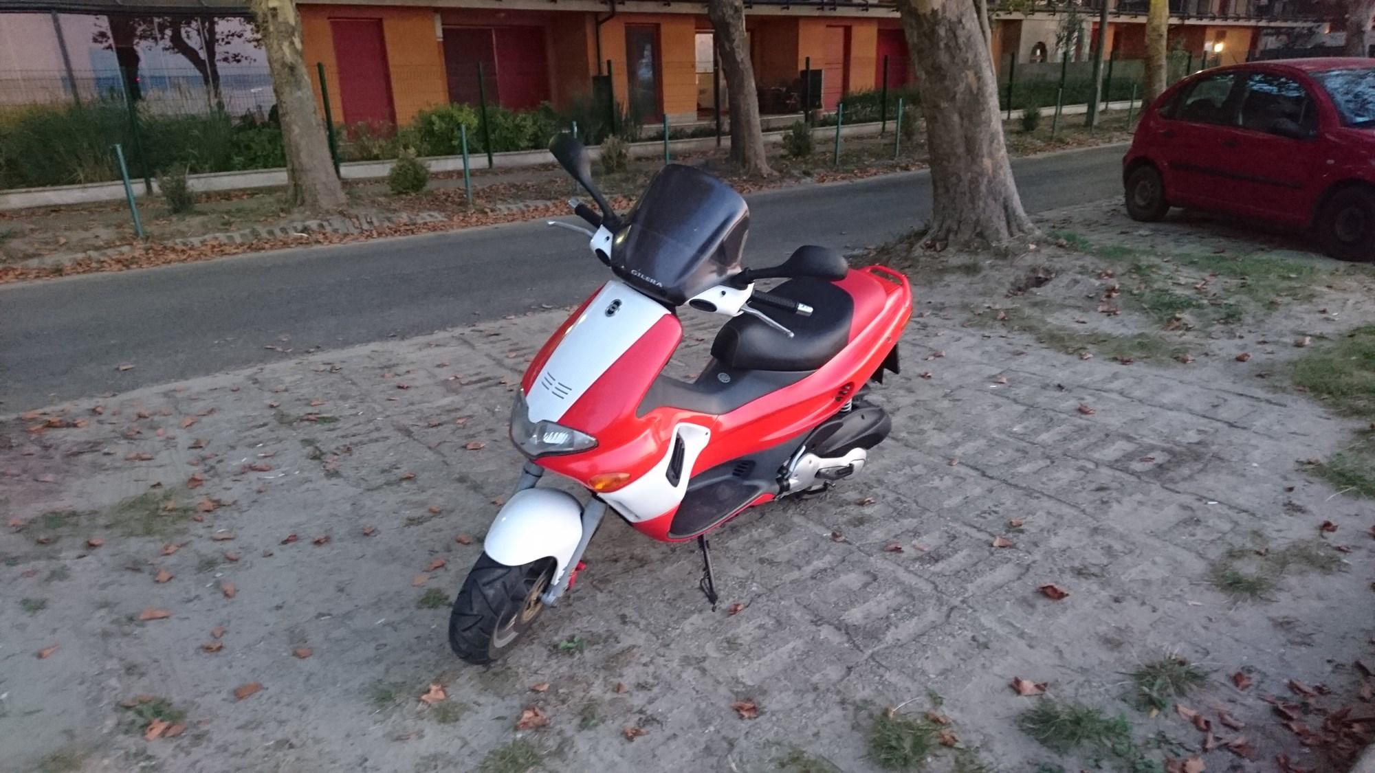 GILERA FX125, 1. kép