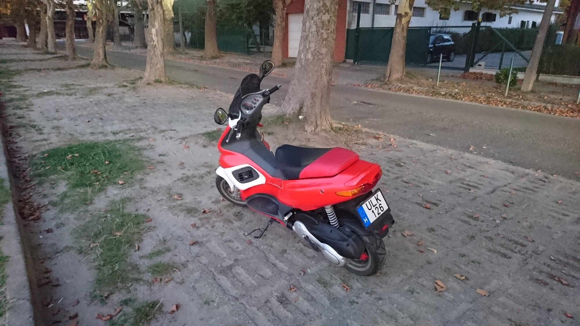 GILERA FX125, 3. kép
