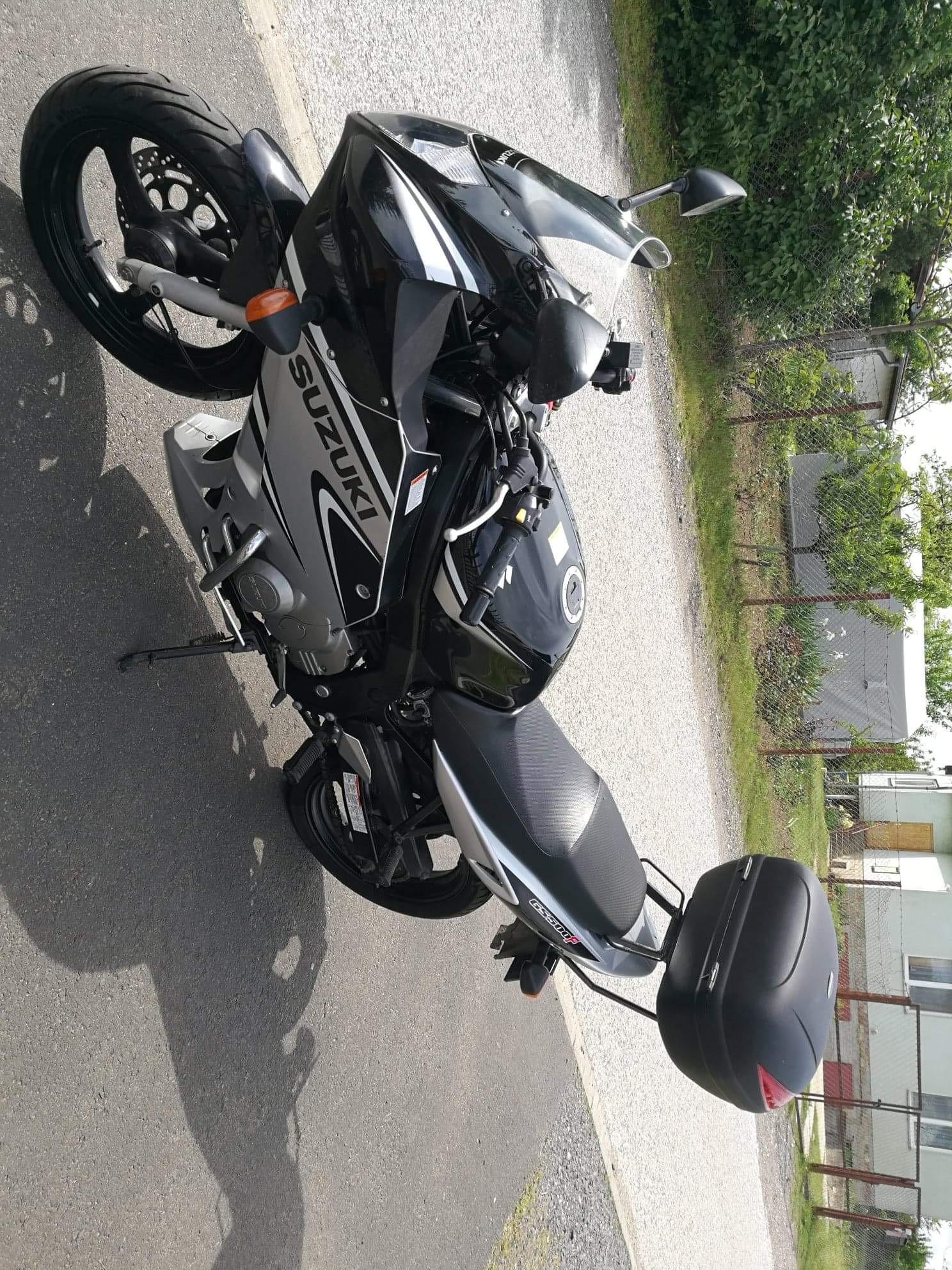SUZUKI GS500F, 4. kép