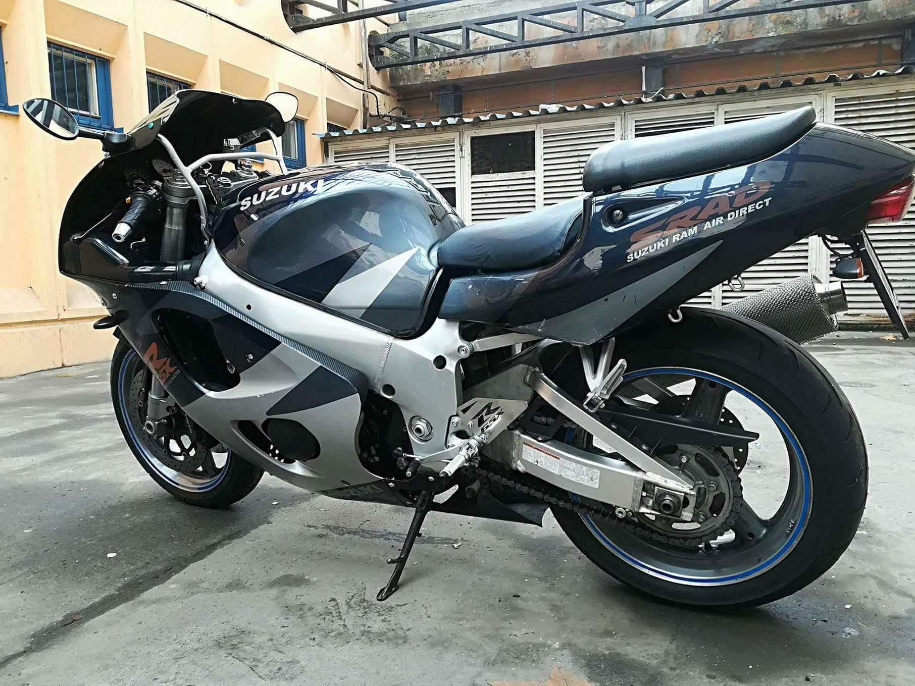 SUZUKI GSXR 750, 3. kép