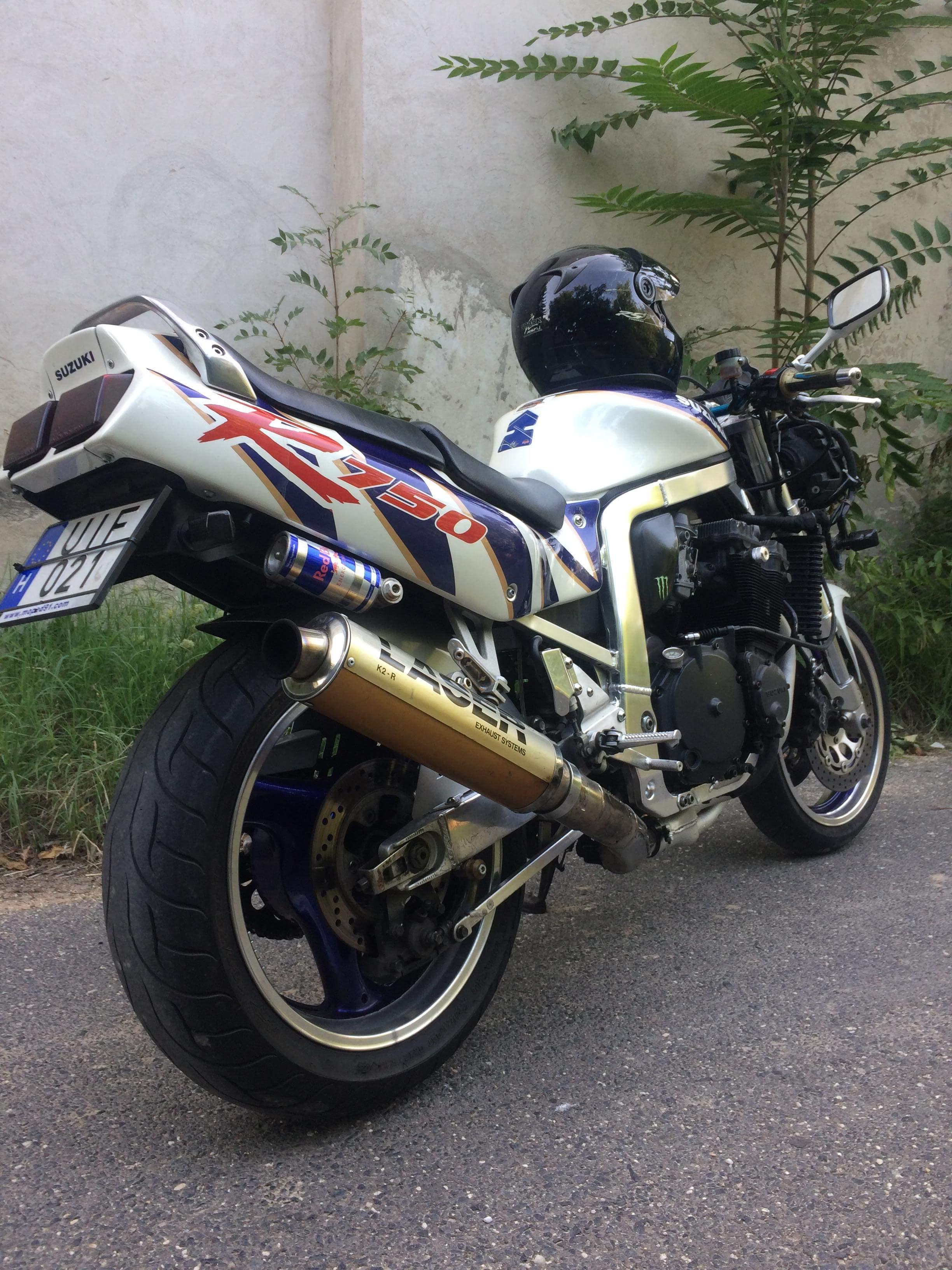 SUZUKI GSXR750, 5. kép