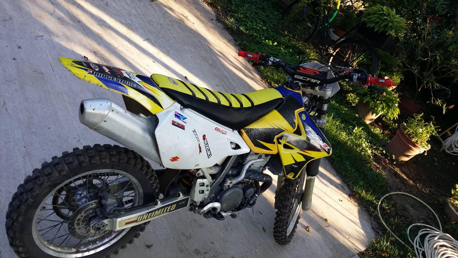 SUZUKI DRZ-400 E, 7. kép