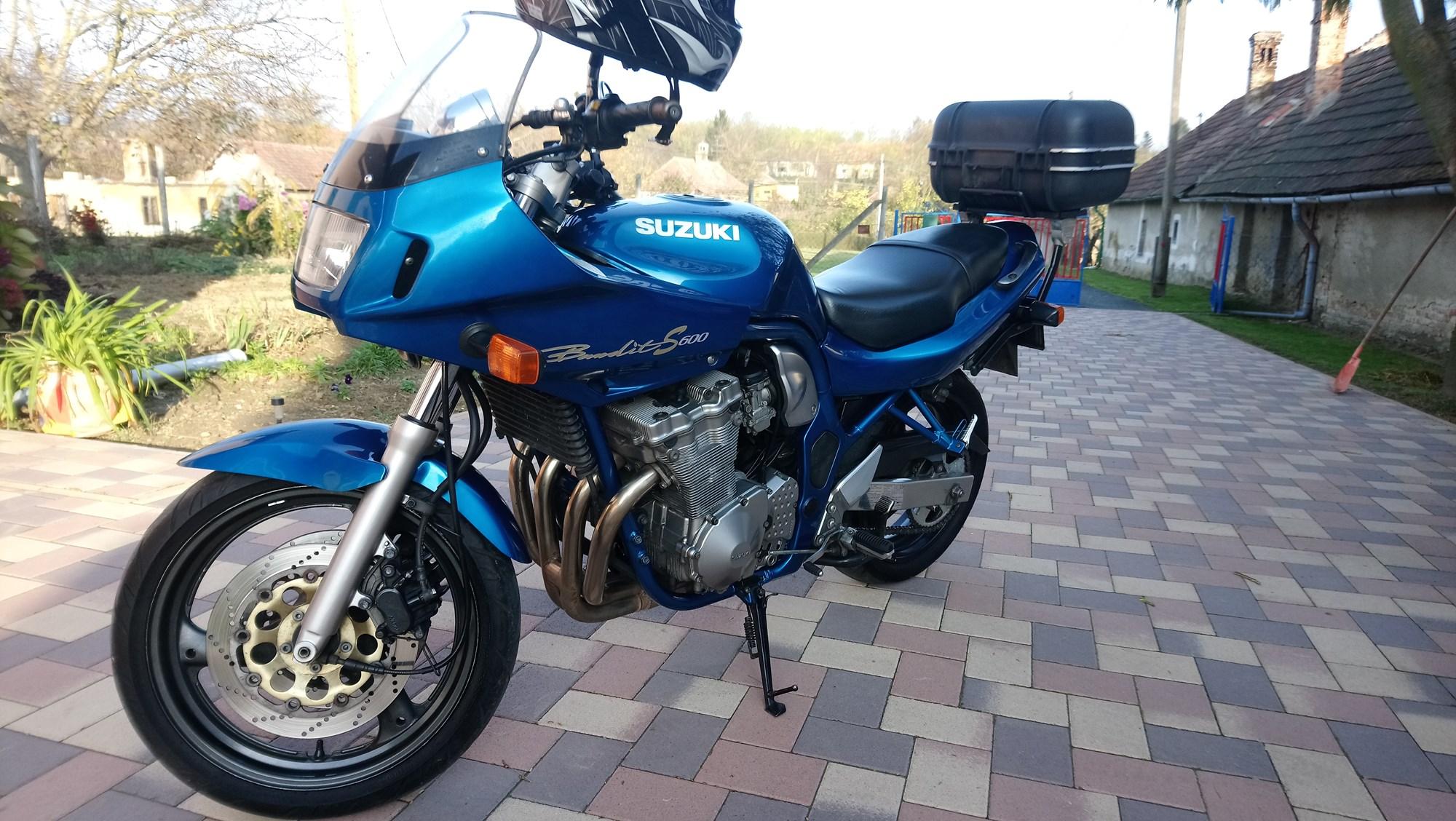 SUZUKI GSF 600 S, 5. kép