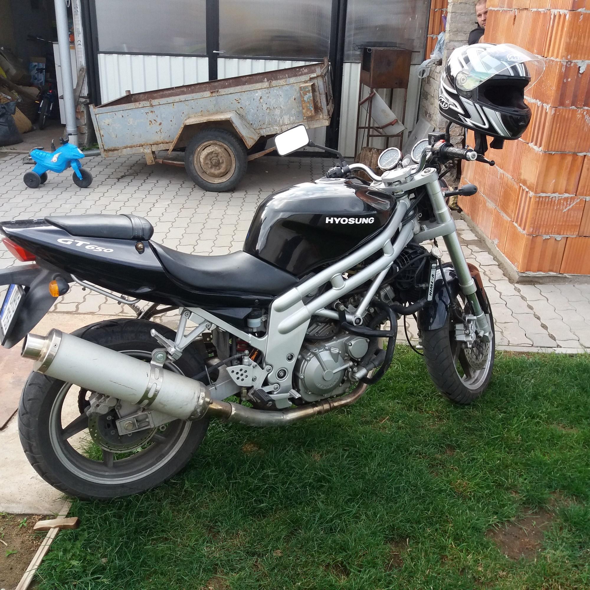 HYOSUNG GT650, 3. kép