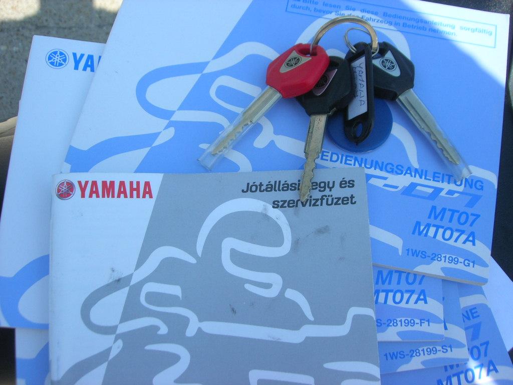 YAMAHA MT-07, 9. kép